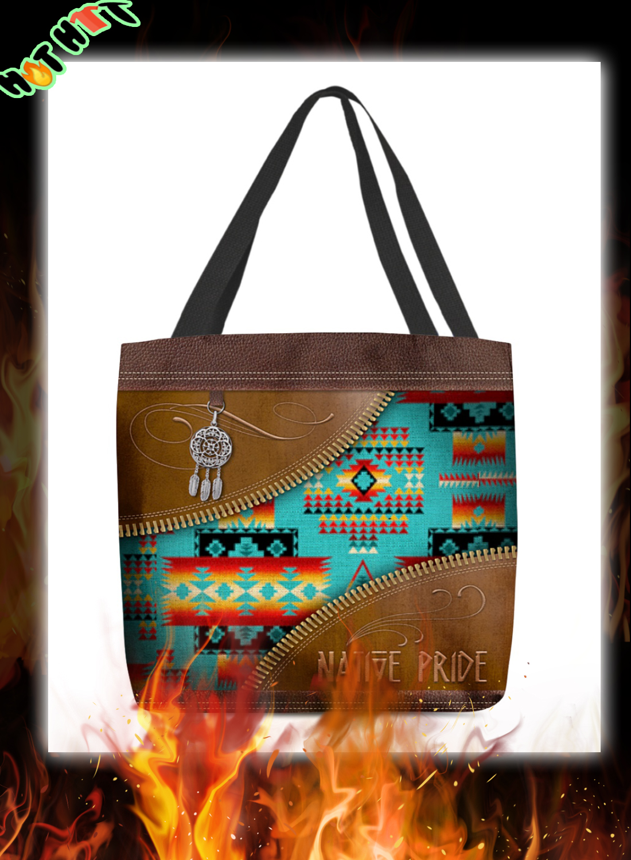 Native Pride American Tote Bag