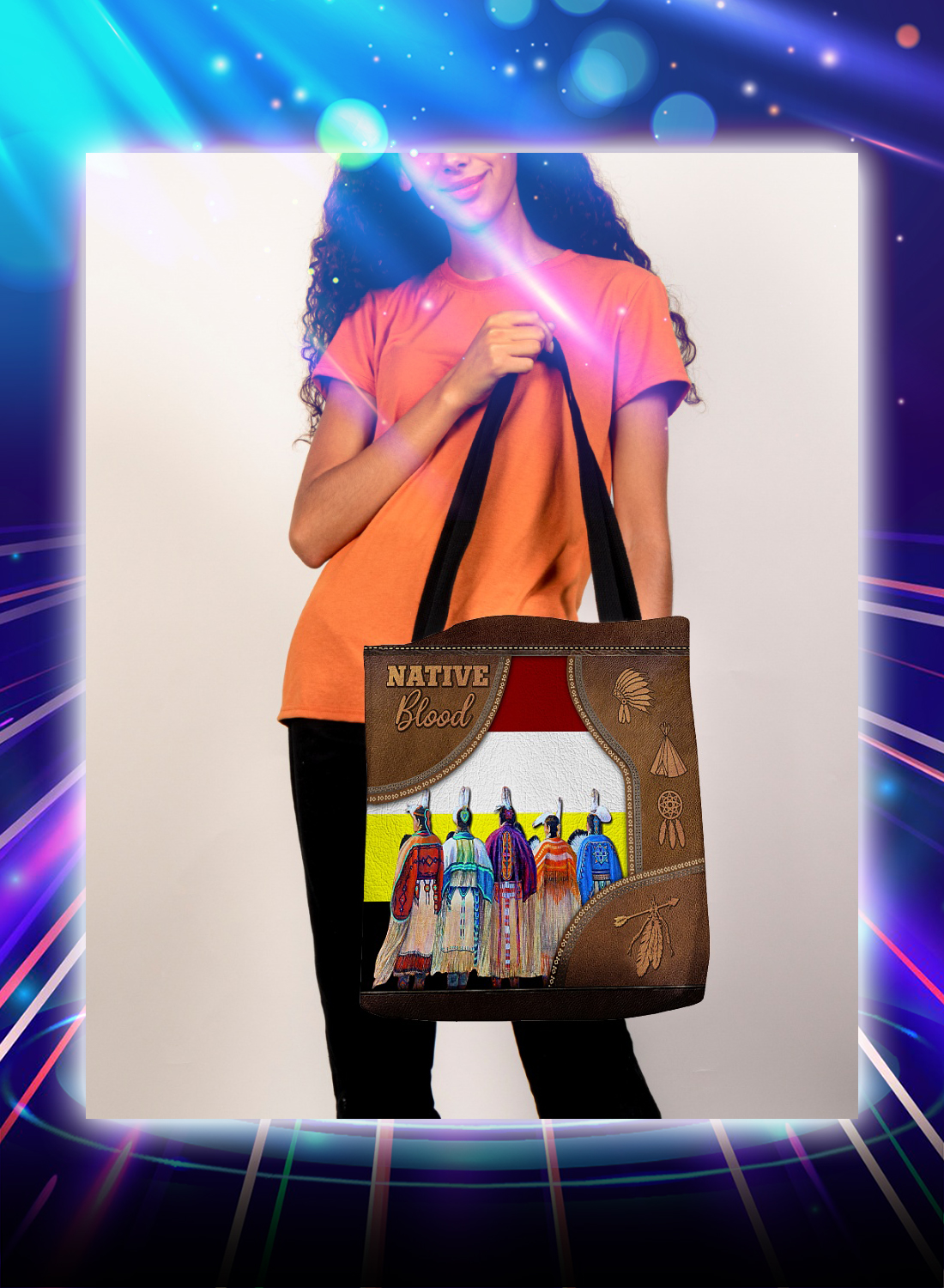 Native blood tote bag - Picture 1