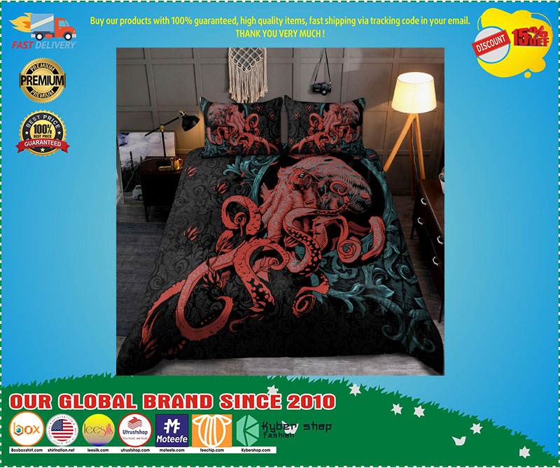 [LIMITED EDITION] Octopus Gothic bedding set