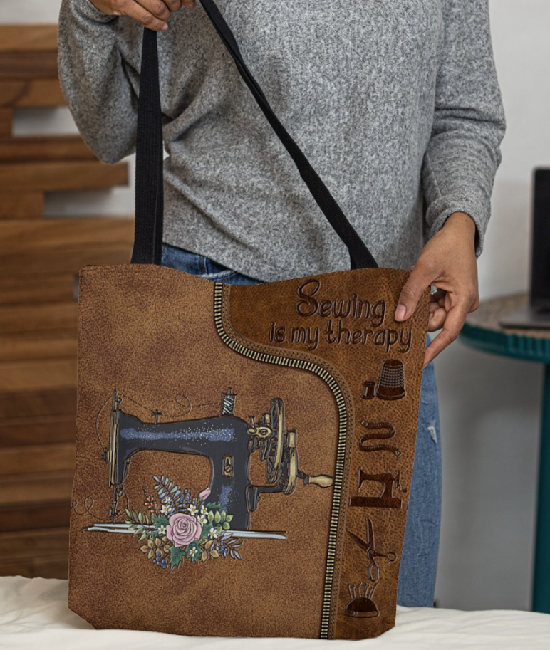 [TREND] SEWING MY THERAPY TOTE BAG