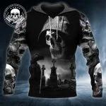 Skull death night 3D hoodie