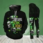 [LIMITED EDITION] Skull stuck between IDK IDC and IDGAF 3D hoodie and legging