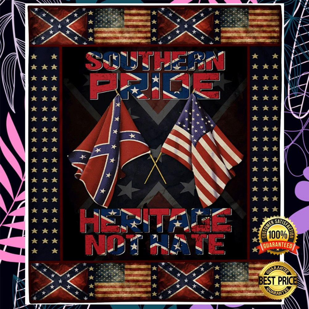 [LIMITED] SOUTHERN PRIDE HERITAGE NOT HATE BLANKET