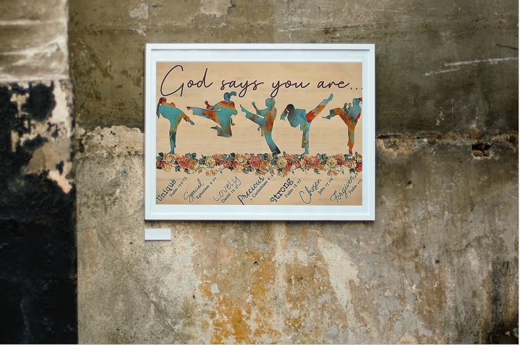 [LIMITED EDITION] Taewondo god says you are poster