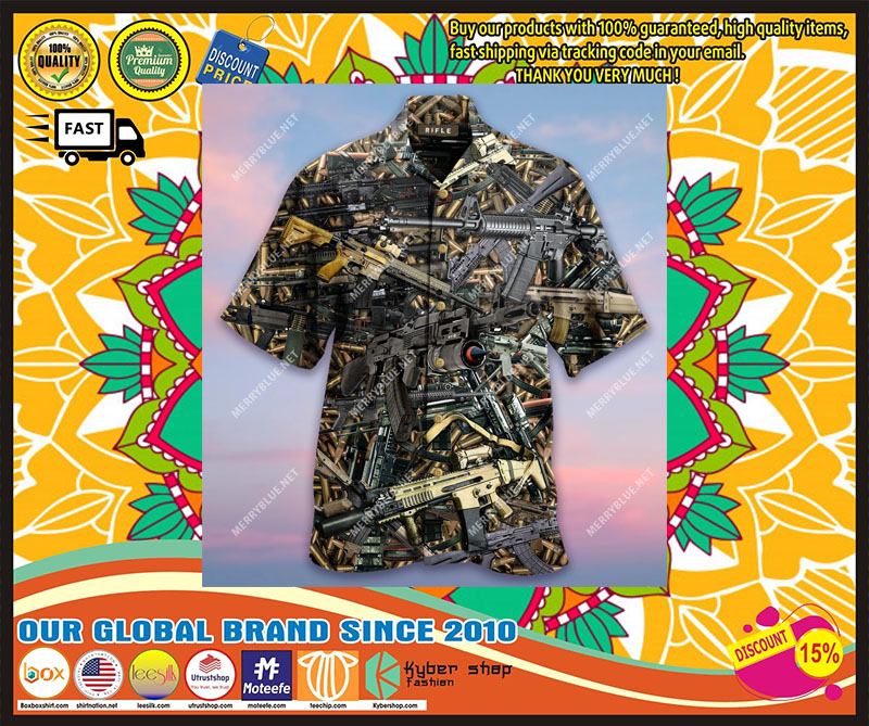 [LIMITED EDITION] The Quickest Way To A Man's Heart Is 2970 Feet Per Second Unisex Hawaiian Shirt