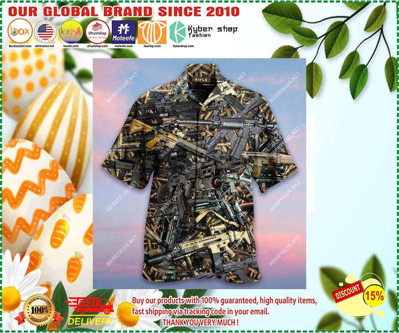 The Quickest Way To A Man's Heart Is 2970 Feet Per Second Unisex Hawaiian Shirt