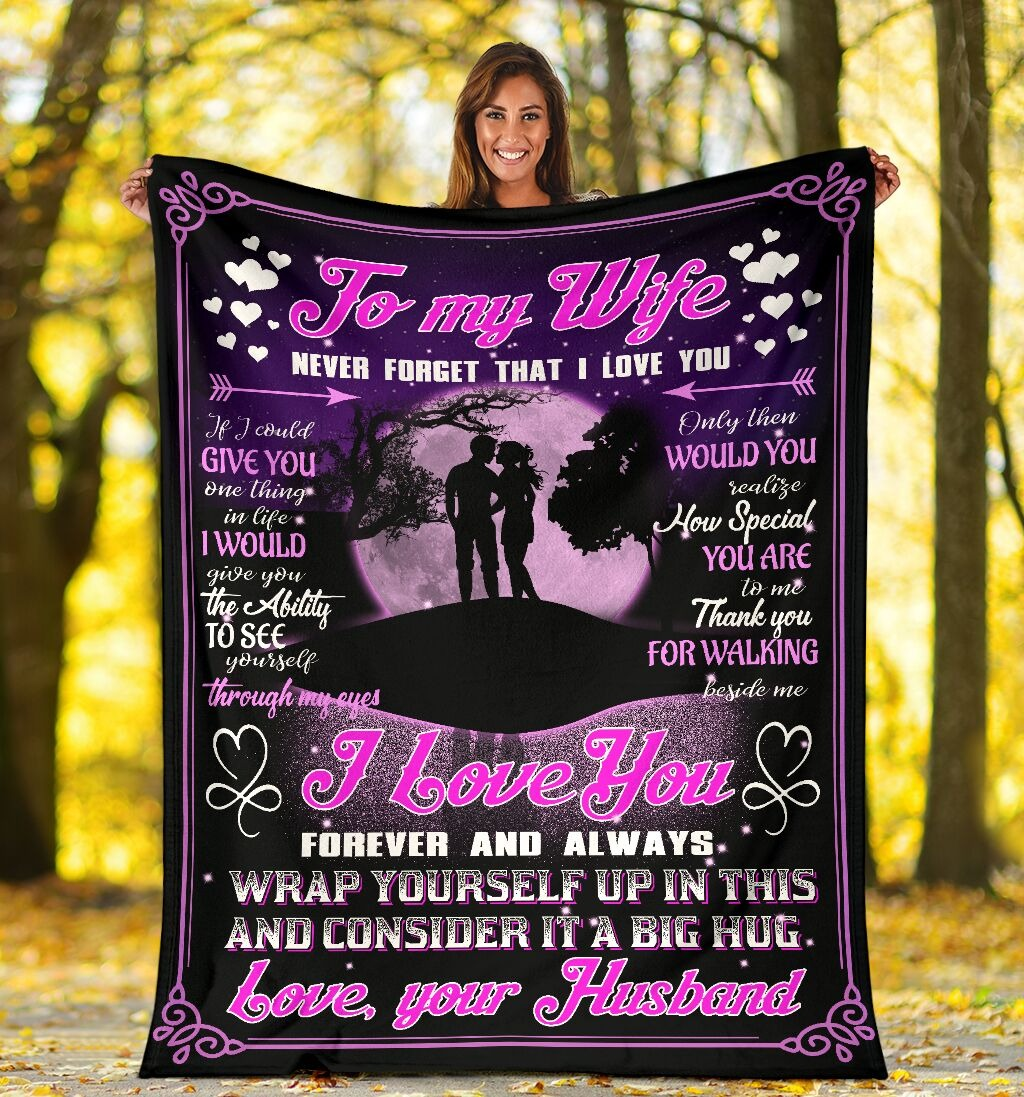 [LIMITED EDITION] To my wife I love you bedding set
