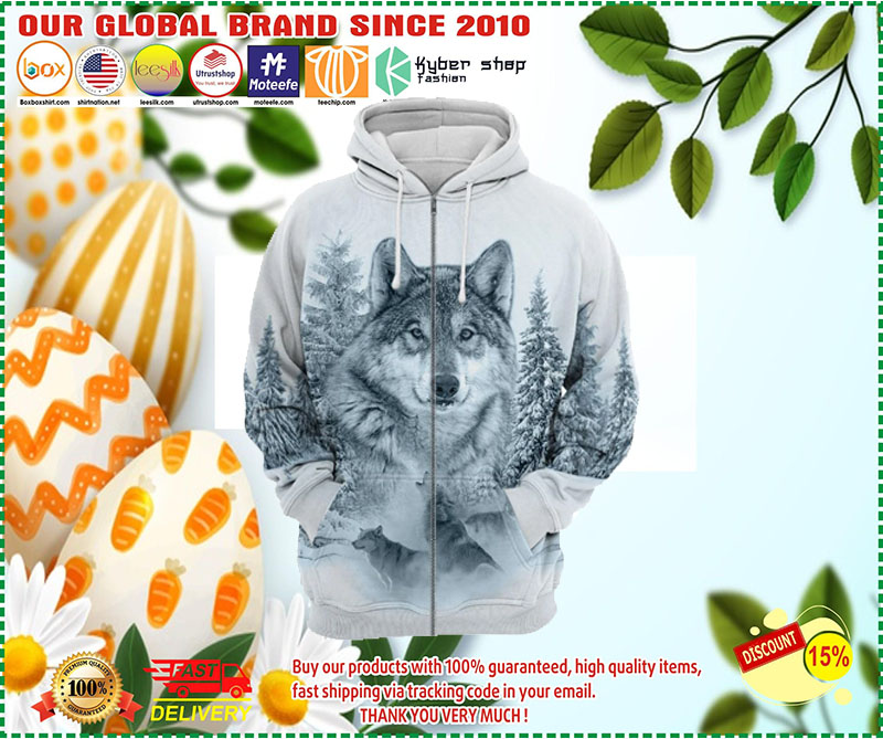 [LIMITED EDITION] Wolf 3D all print hoodie