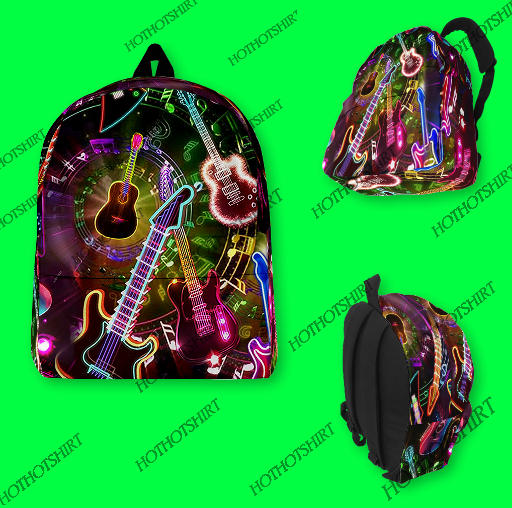 All you need is a guitar school Backpack