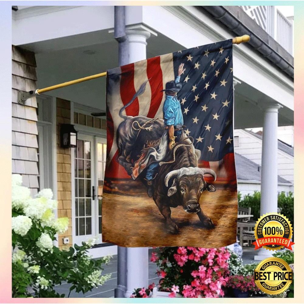 Bull riding flag2