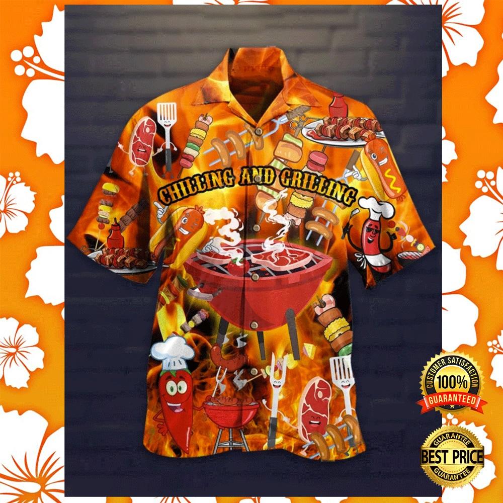 Colorful golden retriever hawaiian shirt2