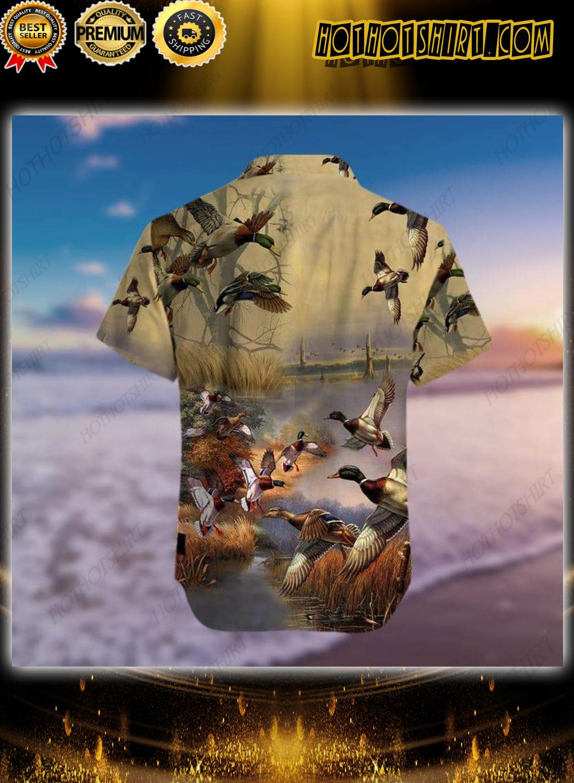 Duck Hunting Hawaiian Aloha Shirt 2