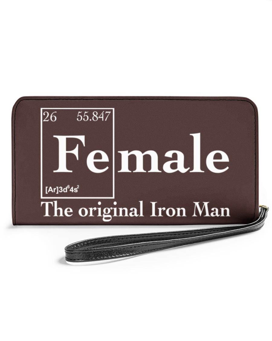 Female the original iron man Shirt Womens Clutch Purse