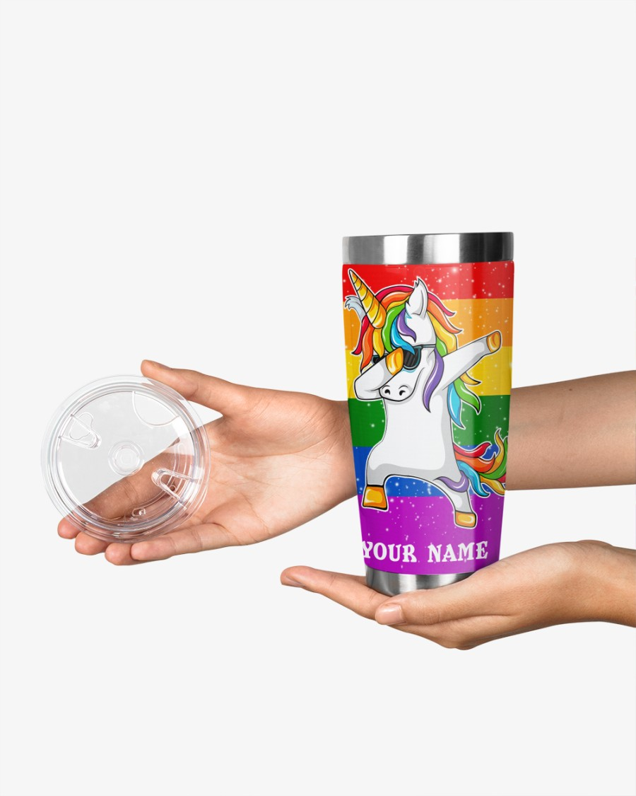 LGBT Unicorn i am brave i am bruised i am who i am meant to be this is me tumbler 2