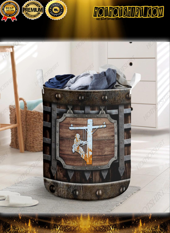 Lineman Laundry Basket