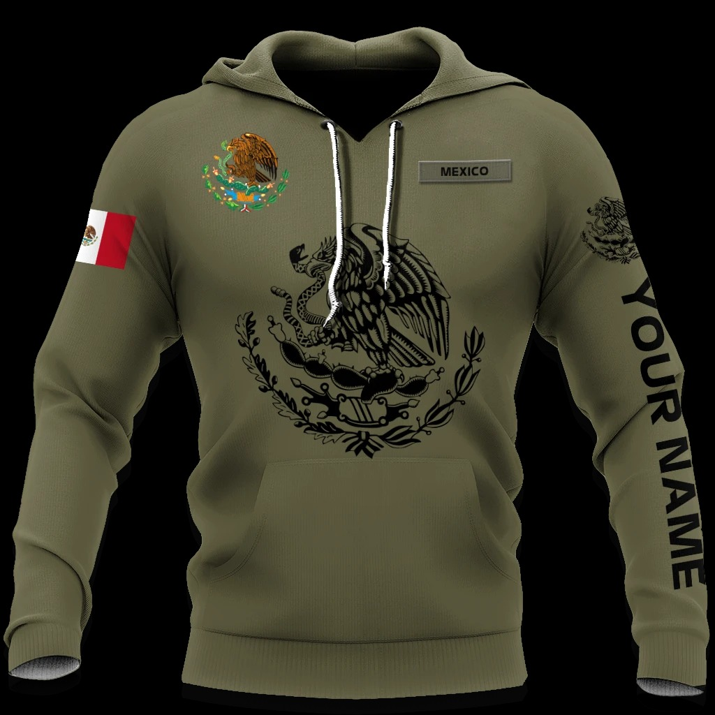 Mexican Customize 3D All Over Printed Hoodie