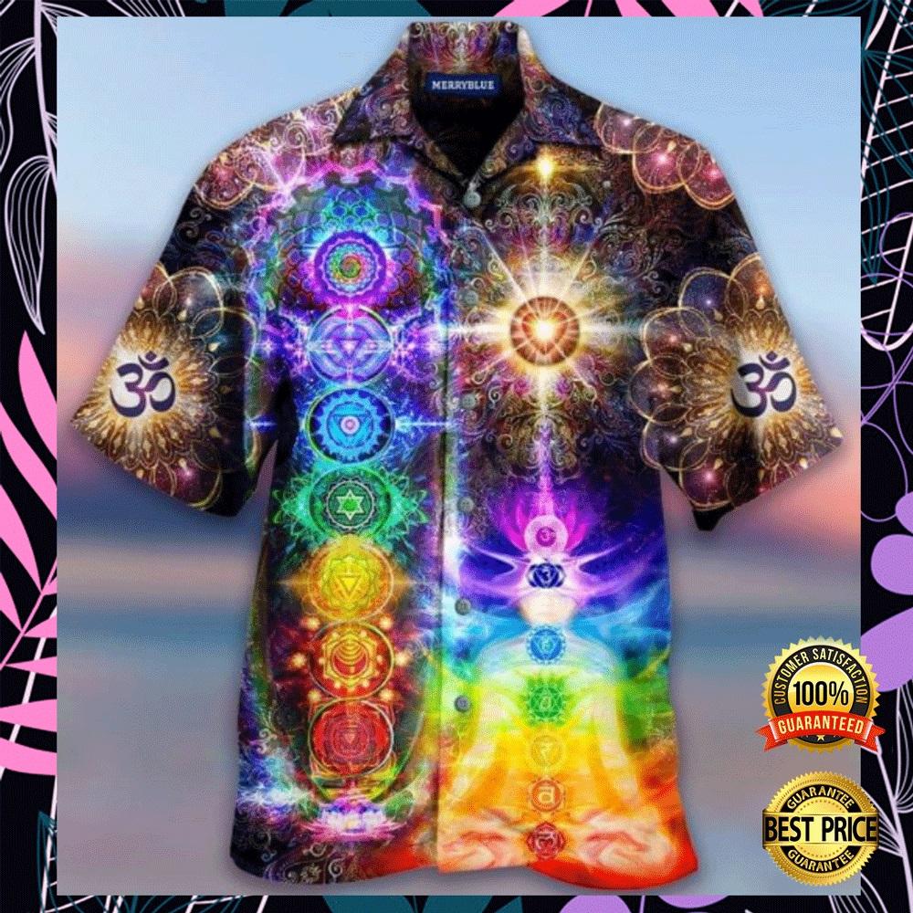 Mind and soul in a harmony Chakra hawaiian shirt2