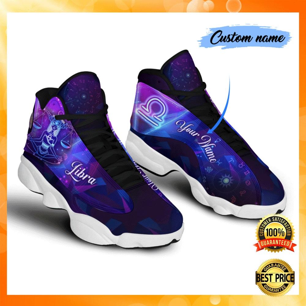 Personalized libra jordan 13 shoes1