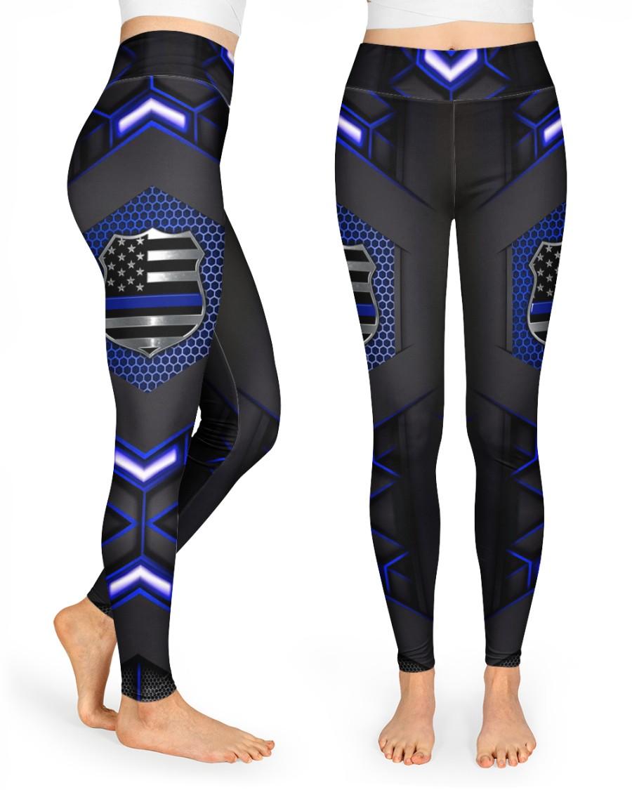 Police high waist leggings