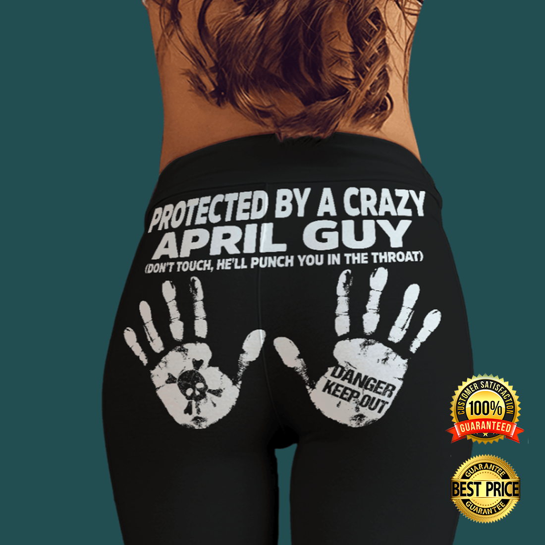 Protected by a crazy april guy legging 4