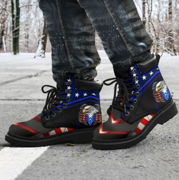 Proud American Eagle timberland boots 1
