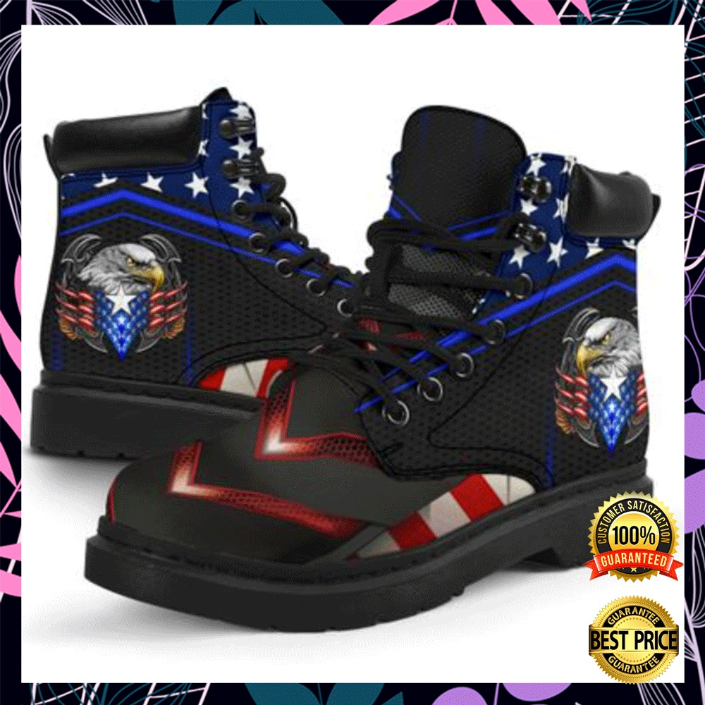 Proud American Eagle timberland boots1