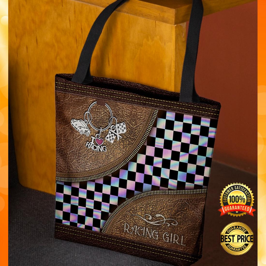 Racing girl tote bag 4