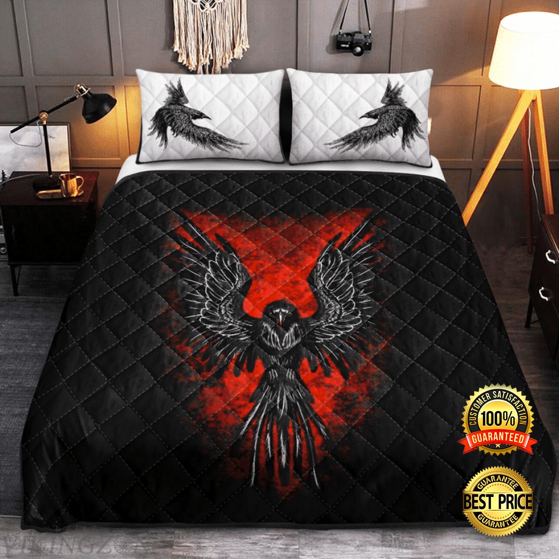 Raven viking bedding set 4