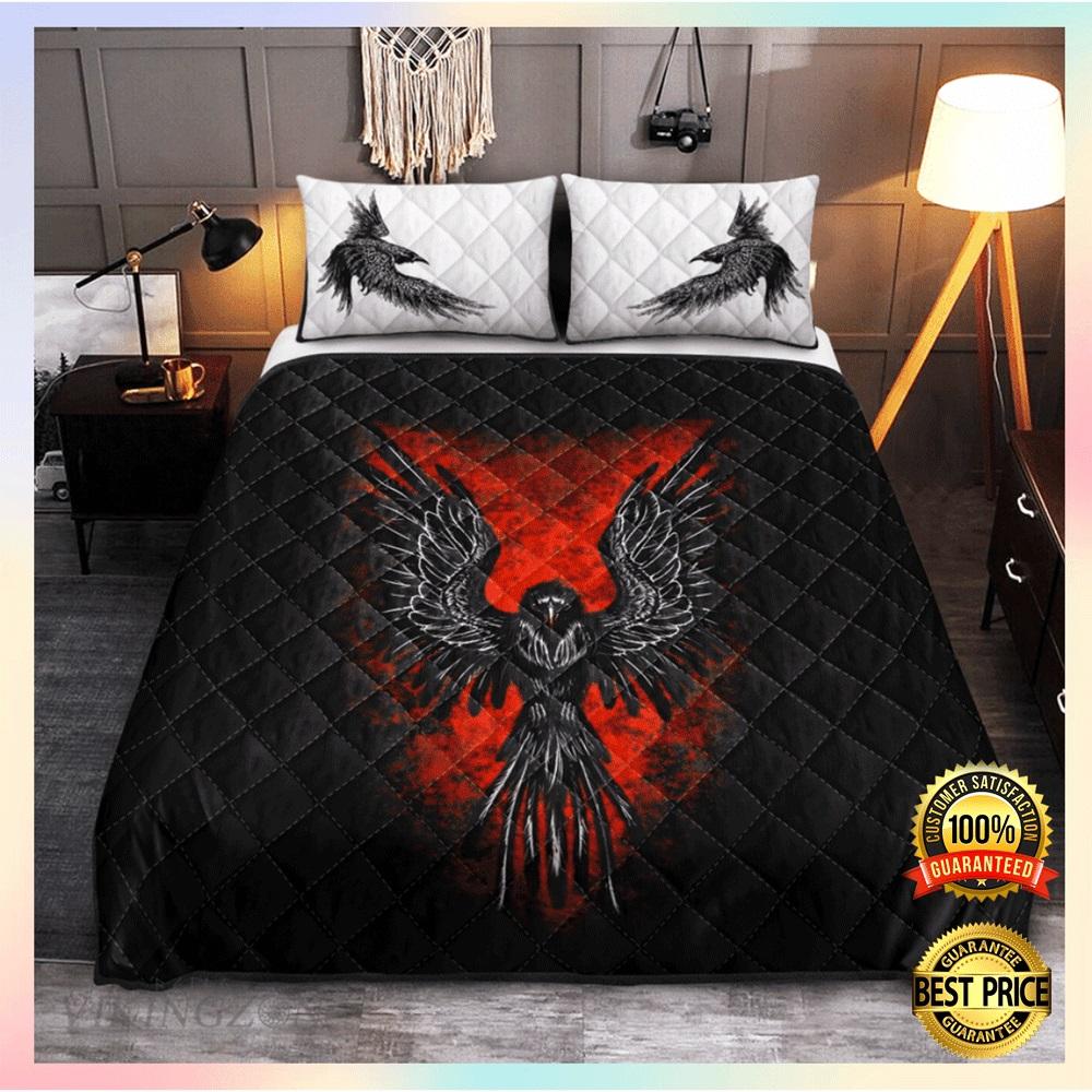 Raven viking bedding set2