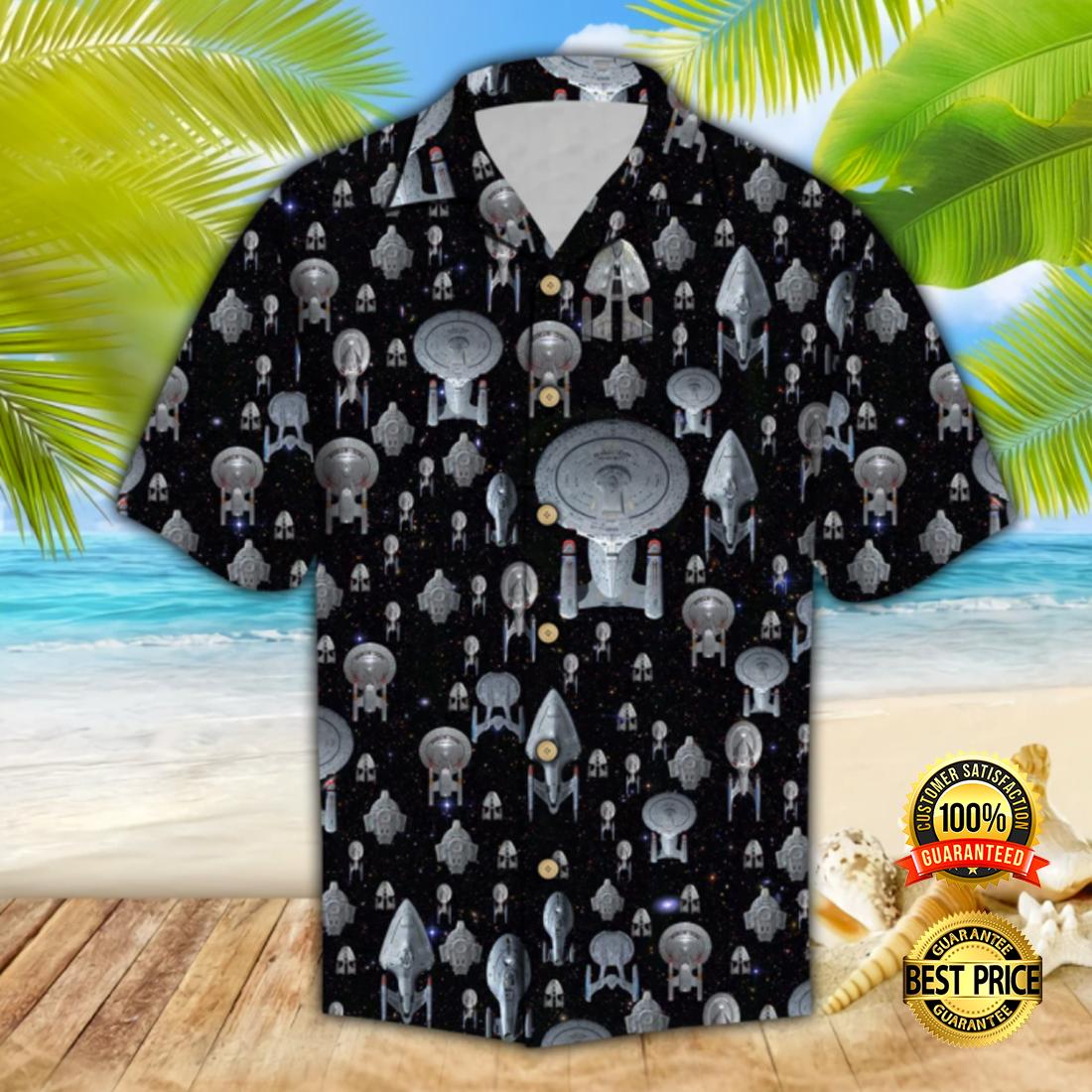 Spaceship hawaiian shirt 4