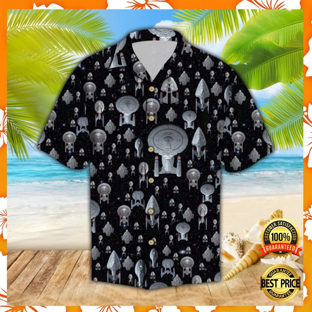 Spaceship hawaiian shirt1