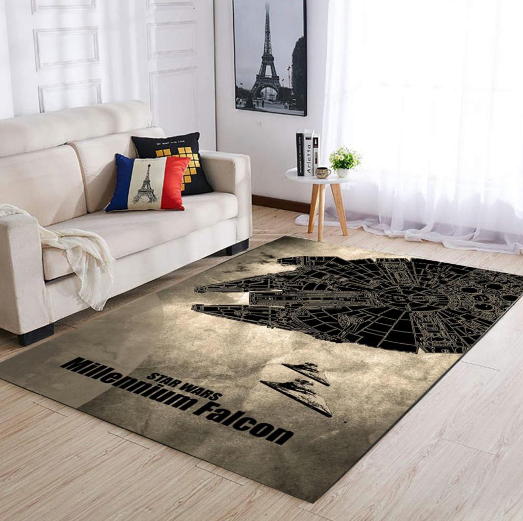 Star Wars Millennium Falcon rug 1