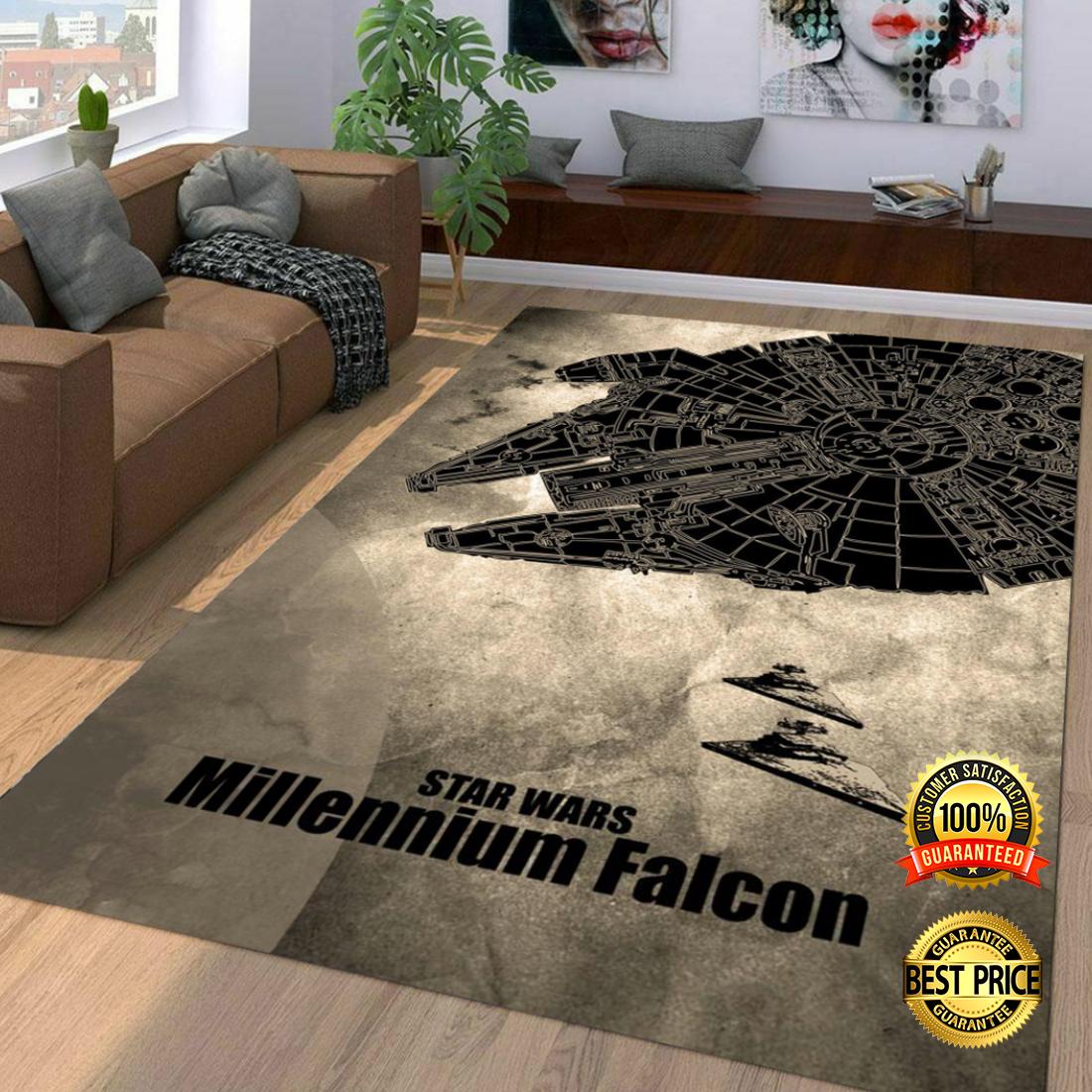 Star Wars Millennium Falcon rug 4