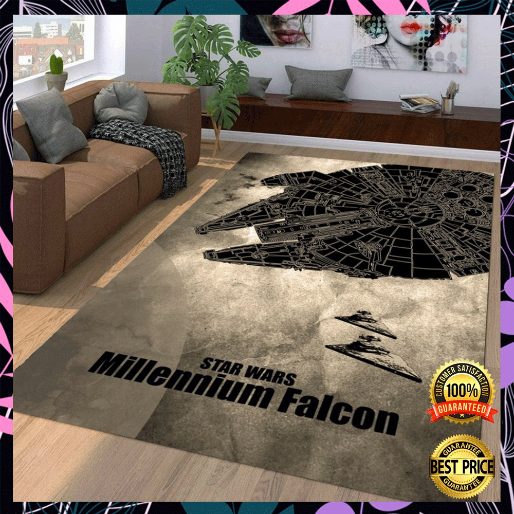 Star Wars Millennium Falcon rug1