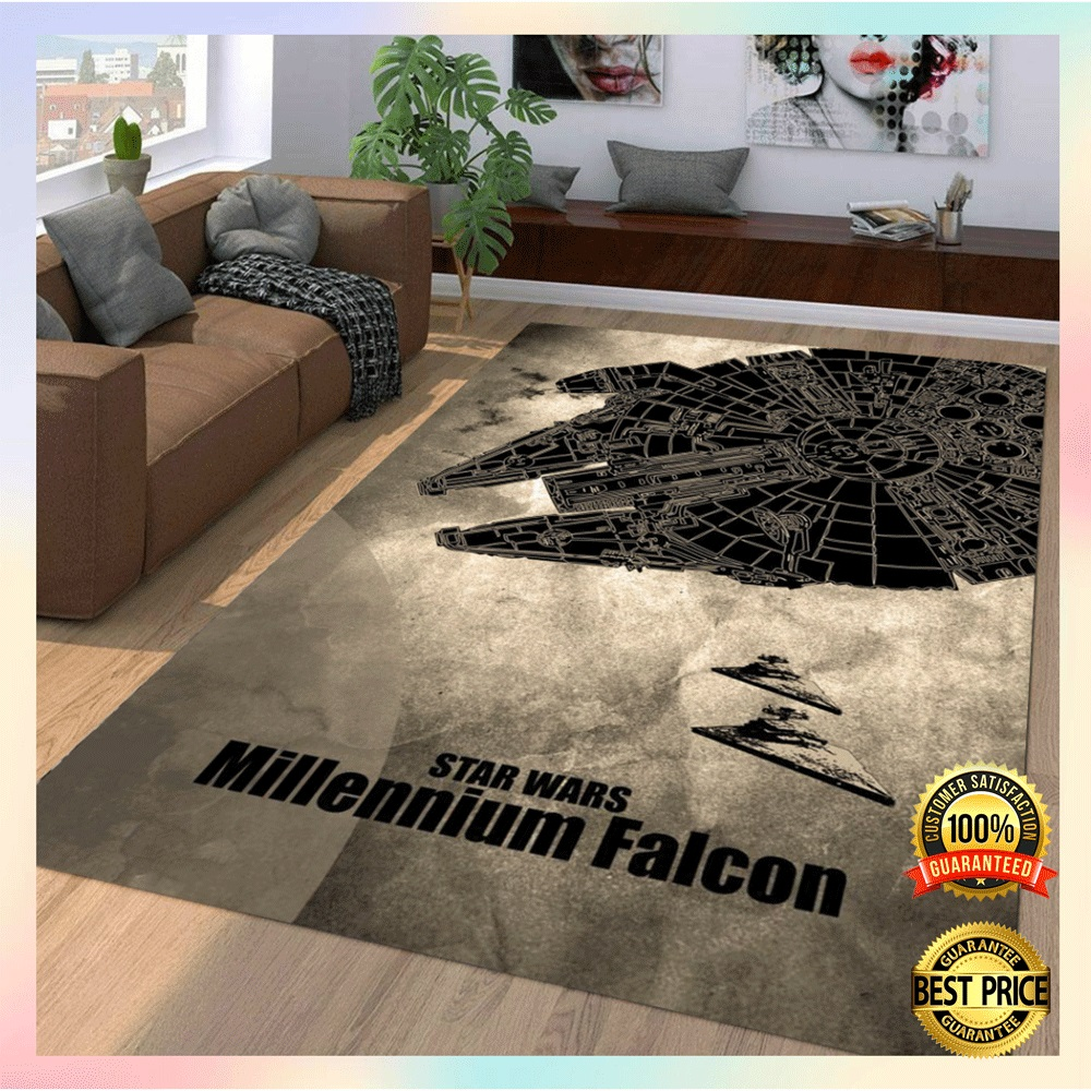 Star Wars Millennium Falcon rug2 1