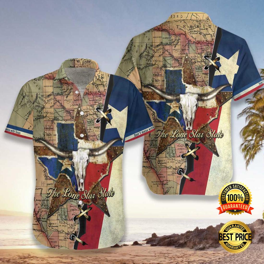 Texas the lone star state hawaiian shirt 5