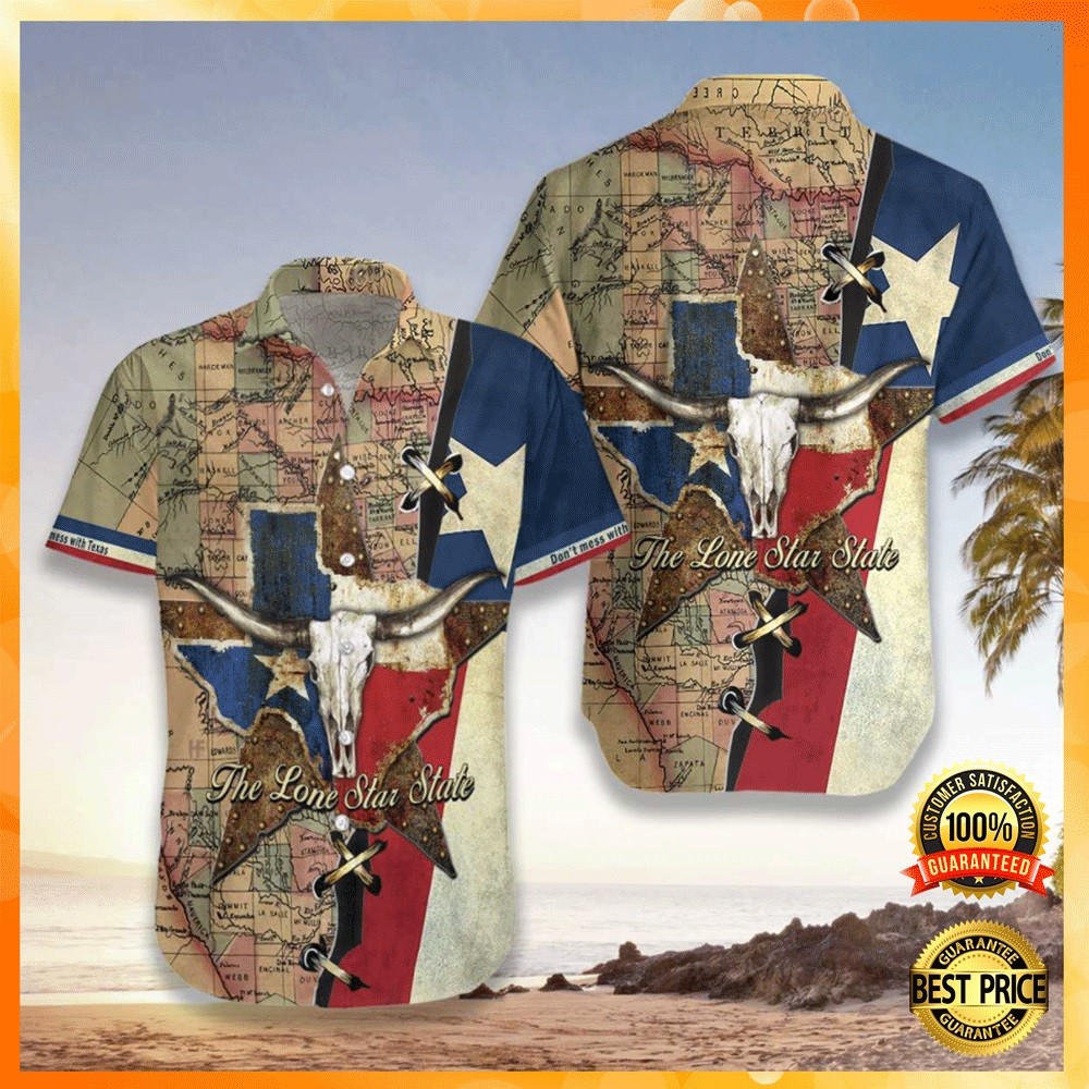 Texas the lone star state hawaiian shirt1