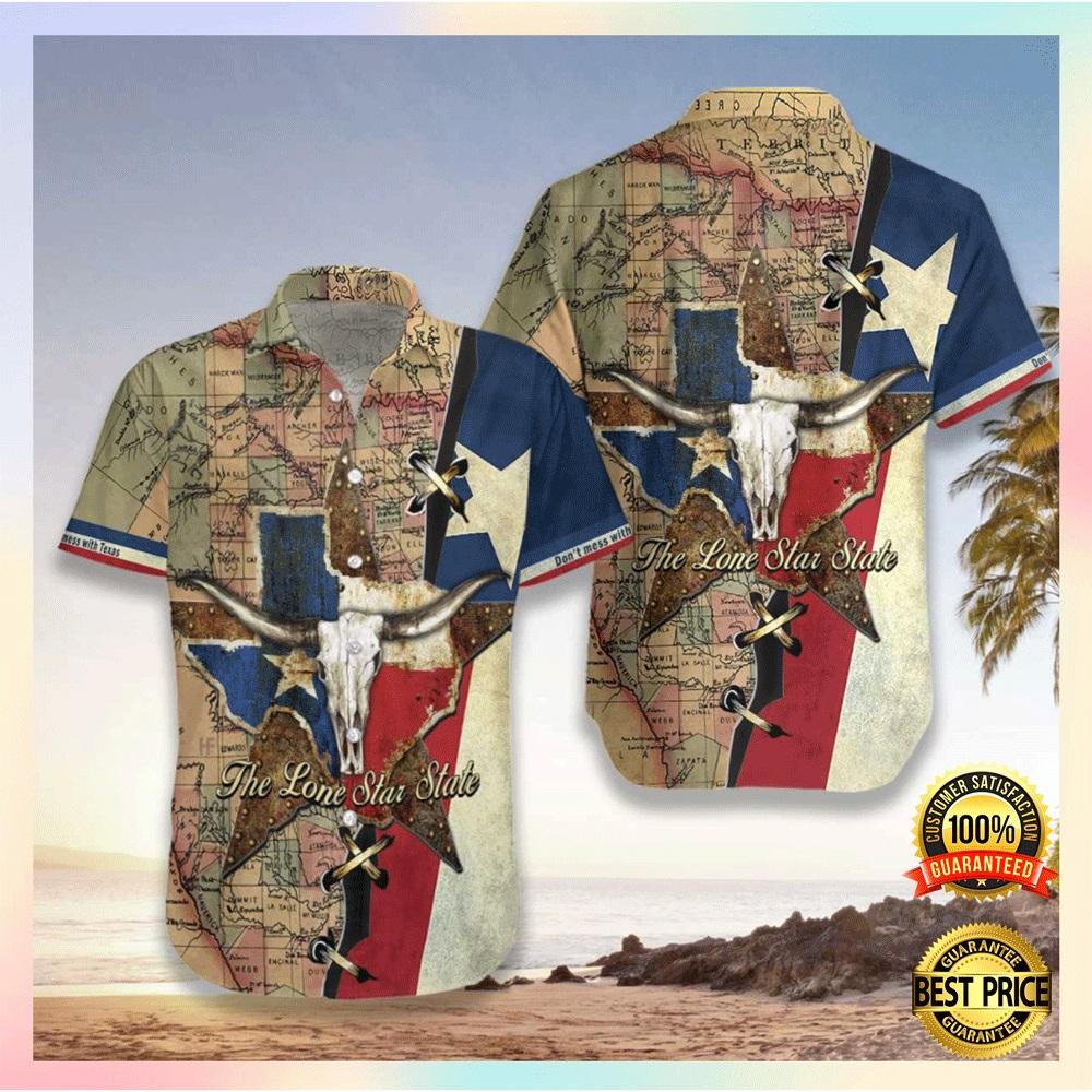 Texas the lone star state hawaiian shirt2