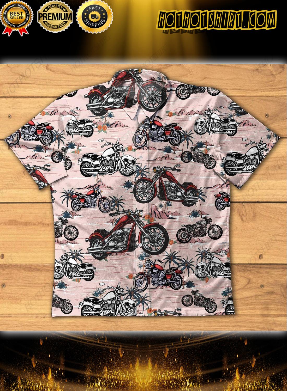 Vintage American Motorcycle Hawaiian Shirts