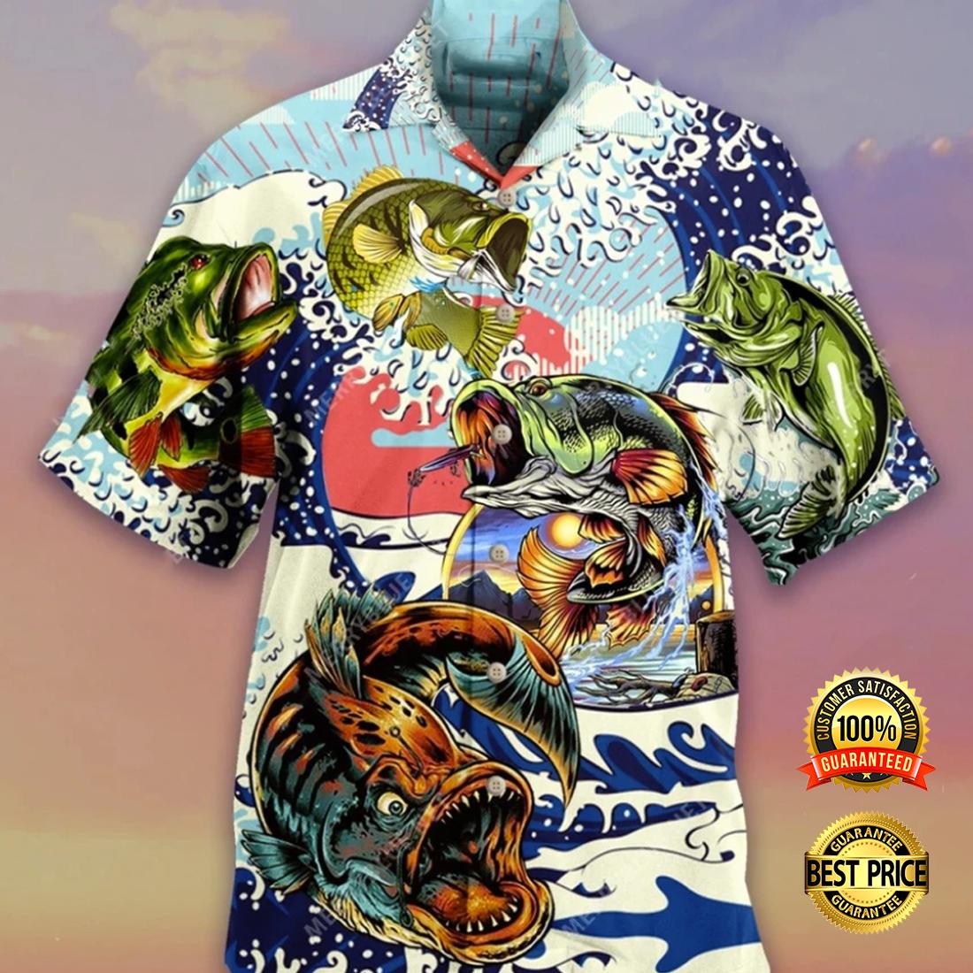 Vintage fishing hawaiian shirt 4