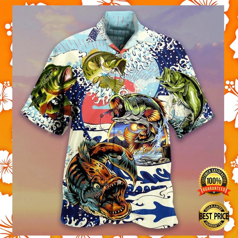 Vintage fishing hawaiian shirt2