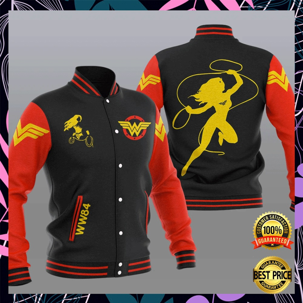 Wonder Woman baseball jacket1