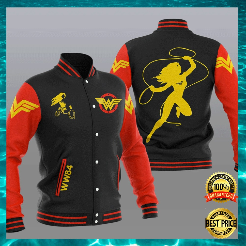 Wonder Woman baseball jacket2