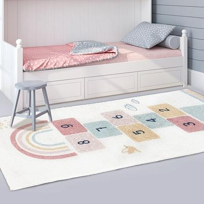 Hopscotch fun rug
