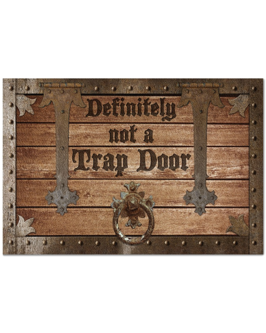 Definitely not a trap door doormat Picture 2