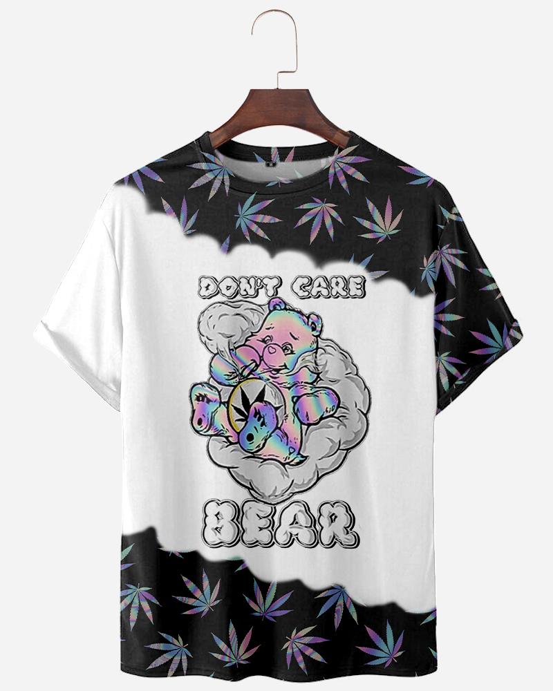 Dont care bear 3d t shirt