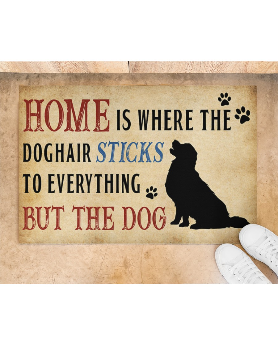 Home is where the dog hair sticks to everything but the dog doormat Picture 1