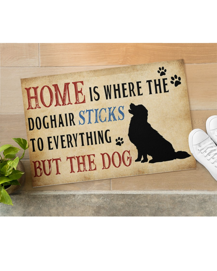 Home is where the dog hair sticks to everything but the dog doormat Picture 2