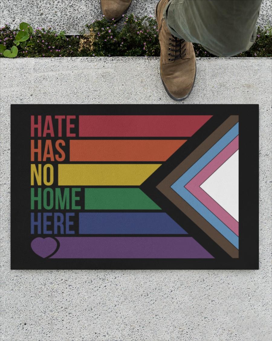 LGBT Hate has no home here doormat