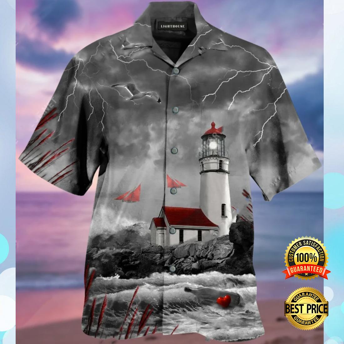 Lighthouse hawaiian shirt 4